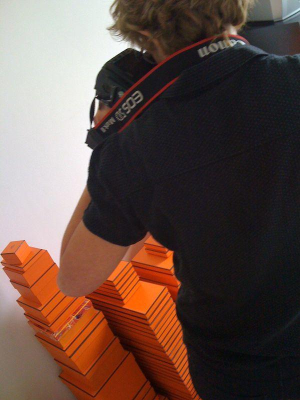 Making of hermès MF3