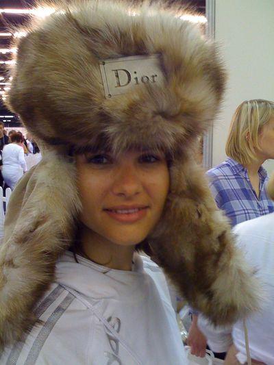 Géraldine chez Dior