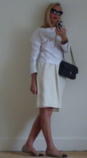 Jupe lanvin et blouse zara 2