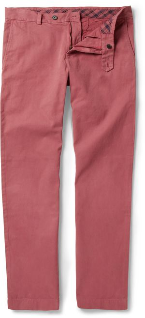 177371 Brooks Brothers brick red chino's