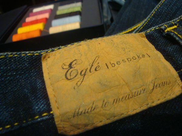 Eglé Bespoke jeans sur mesure