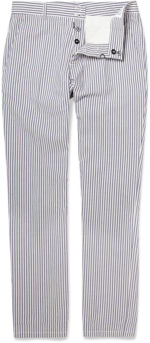 180168 Margiela striped trousers