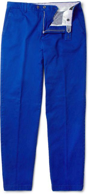 184805 Etro blue chinos