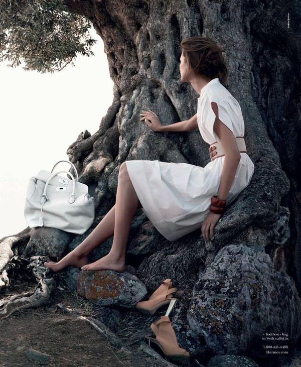 femme-assise-arbre-hermès