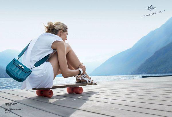 Hermès sporting life ad campaign 2013