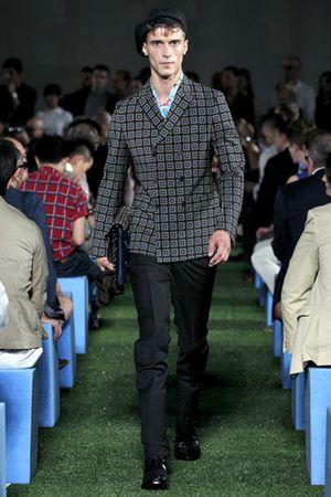Prada men jacket spring summer 2012