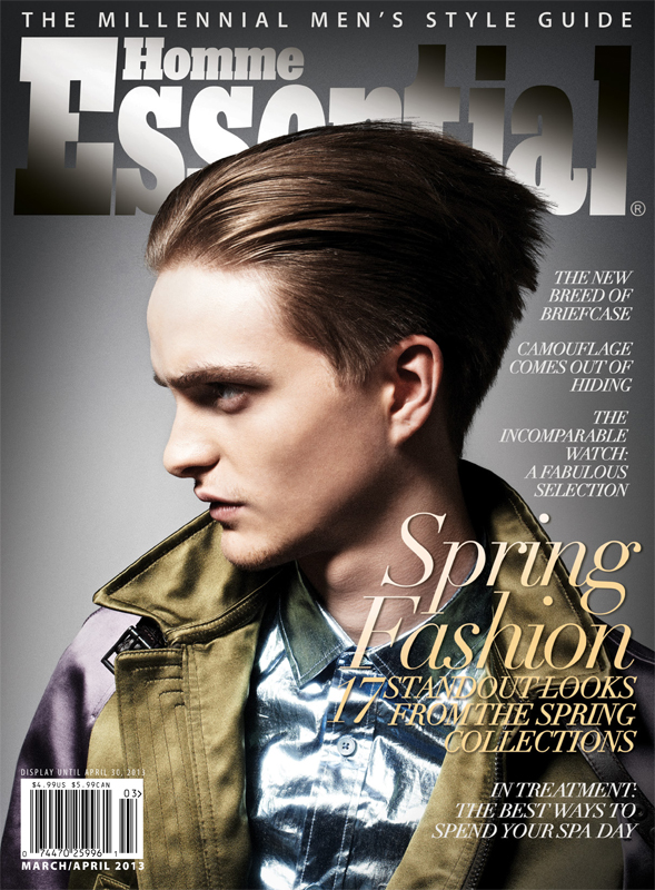 Burberry men spring summer 2013 blouson cover