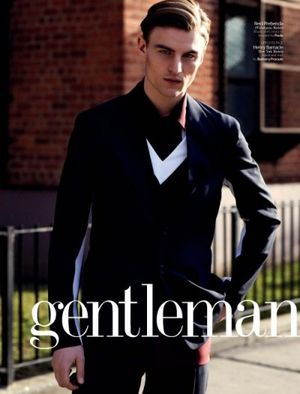 Prada men spring summer 2013 cover gentleman