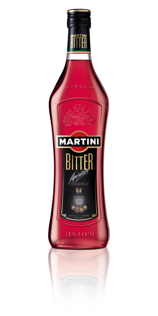 Martini Bitter Bottle Wh