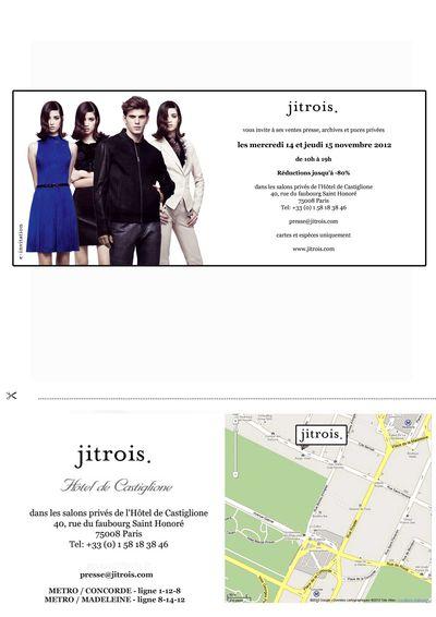 Vente privée Jitrois