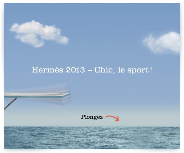 Hermès 2013 chic le sport