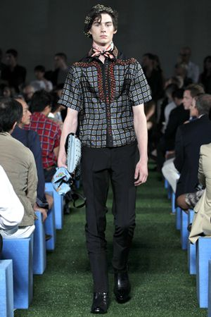 Prada men spring summer 2012