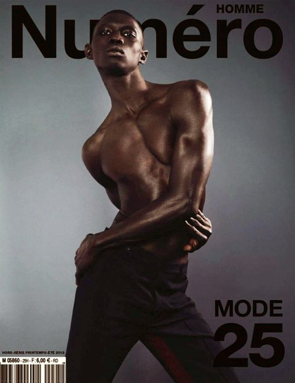 Prada men spring summer 2013 cover numero