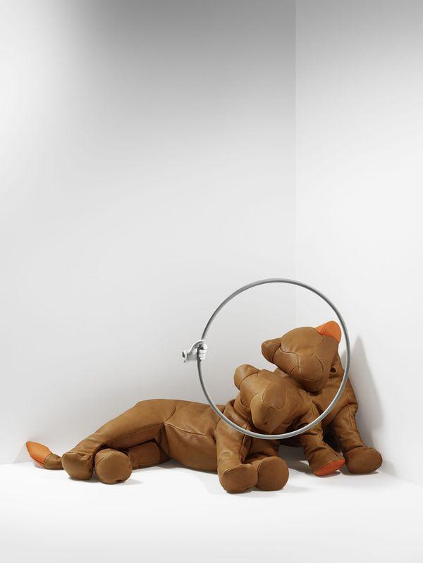 Lionne assise Lionne couchÇe