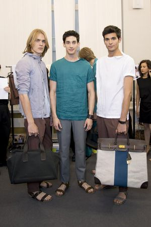 Hermes-mens-backstage-spring-summer-2014-pfw8