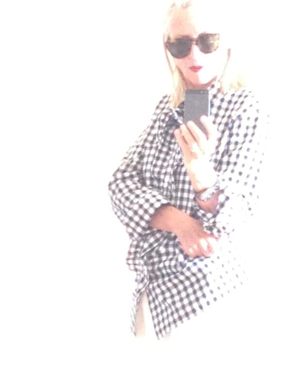 CAB et la chemise vichy Prada