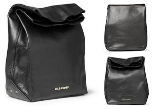 Jil-sander-paper-bag-leather-bag-black-fall-winter-2012-mr-porter-mrporter-315133