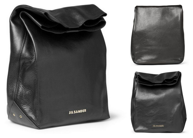 Jil-sander-paper-bag-leather-bag-black-fall-winter-2012-mr-porter-mrporter-315133