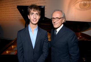 Baptiste Rossi et Christian Liaigre