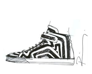 Croquis 10 ans PR sneakers